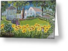 Annie's Summer Cottage Greeting Card