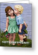 Anniversary Card 5x7 Greeting Card