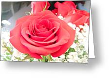 Anniversary Roses With Love 1 Greeting Card