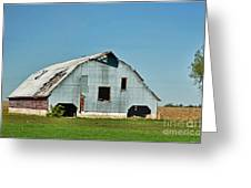 Another Barn To Repair Greeting Card