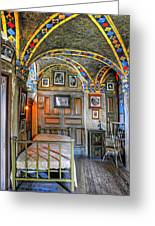 Another Bedroom At The Castle Greeting Card