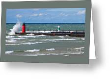 Another Big Wind Greeting Card
