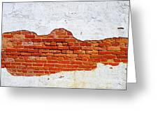 Another Brick In The Wall Greeting Card by Lorraine Heath