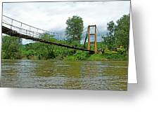Another Bridge Over River Kwai In Kanchanaburi-thailand Greeting Card