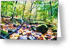 Another Enchanted Forest Greeting Card