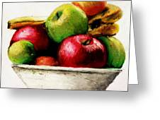 Another Fruit Bowl Greeting Card