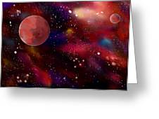 Another Galaxy Greeting Card