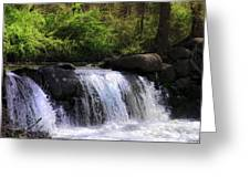 Another Hidden Waterfall Greeting Card