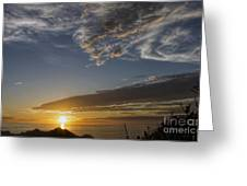 Another Socal Summer Sunset Greeting Card