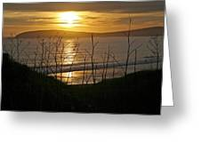 Another Sunset At Bodega Greeting Card