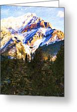 Another View Of My Mountain Greeting Card