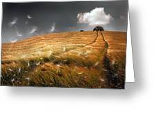 Another Windy Day Greeting Card
