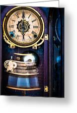 Ansonia Clock Greeting Card