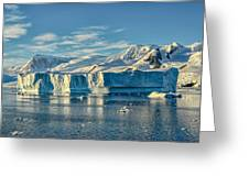 Antarctic Iceberg Greeting Card