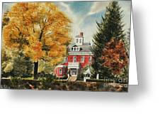 Antebellum Autumn Ironton Missouri Greeting Card