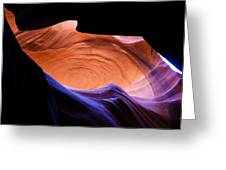 Antelope Canyon - Page Az Greeting Card