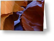 Antelope Canyon 40 Greeting Card