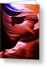 Antelope Canyon 2 Greeting Card