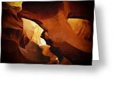 Antelope Canyon 26 Greeting Card