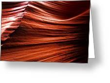 Antelope Canyon 3 Greeting Card
