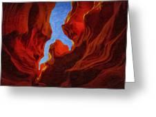 Antelope Canyon 30 Greeting Card