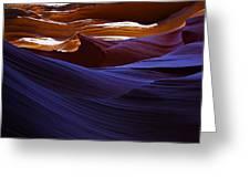 Antelope Canyon 16 Greeting Card