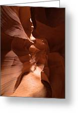 Antelope Canyon 9 Greeting Card