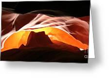 Antelope Canyon Panorama Greeting Card