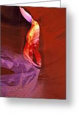 Antelope Canyon Passage Greeting Card