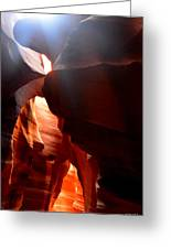 Antelope Canyon Upper 4 Greeting Card by Carrie Putz