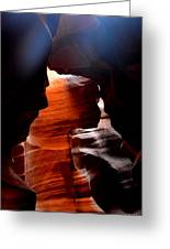 Antelope Canyon Upper 5 Greeting Card by Carrie Putz
