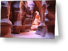 Antelope Canyon1 Greeting Card