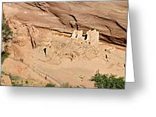 Antelope House Ruins Blending In Greeting Card