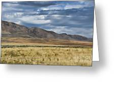 Antelope Island Camera Flats Greeting Card