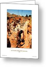 Anthony Howarth Collection - Gold- Re-working Old Mines - S.a. Greeting Card
