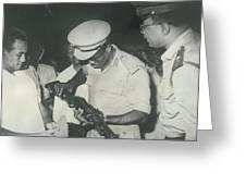 Anti Revolution Elements In Sudan Greeting Card