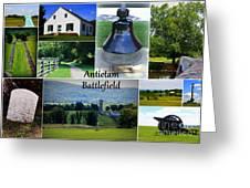 Antietam Collage Greeting Card