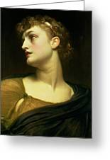 Antigone Greeting Card by Frederic Leighton