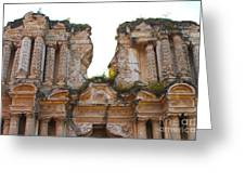 Antigua Ruins Greeting Card