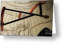 Antiquaria Nautica Greeting Card