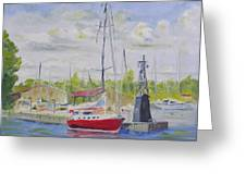 Antique Boat Museum-clayton Ny Greeting Card