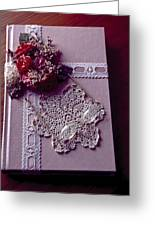 Antique Book Greeting Card