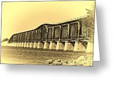 Antique Bridge Greeting Card