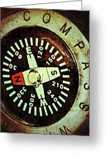 Antique Compass Greeting Card
