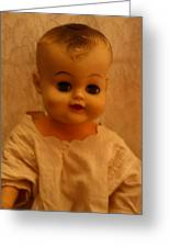 Antique Doll 1 Greeting Card