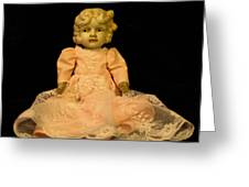 Antique Doll 2 Greeting Card