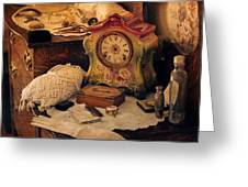 Antique Dresser  Greeting Card by Maria Angelica Maira