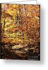 Antique Fall Greeting Card