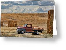 Antique Ford Truck Greeting Card