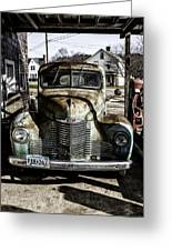 Antique International Pickup Truck Greeting Card